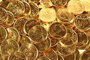 Goldmünze Anlage