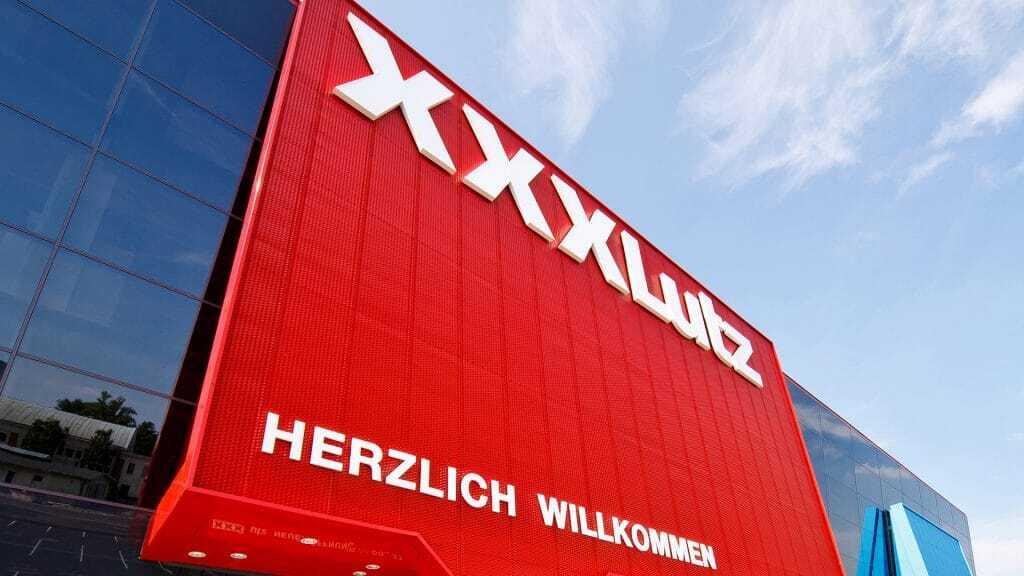 XXXLutz, auch eines der 5 größten Möbelhäuser Deutschlands