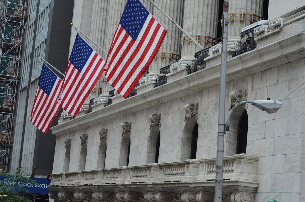 New Yorker Börse an der Wall Street