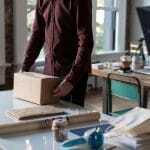 Pakete Retouren Online-Handel