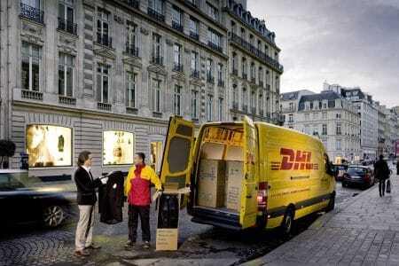 DHL Pakete Lieferung