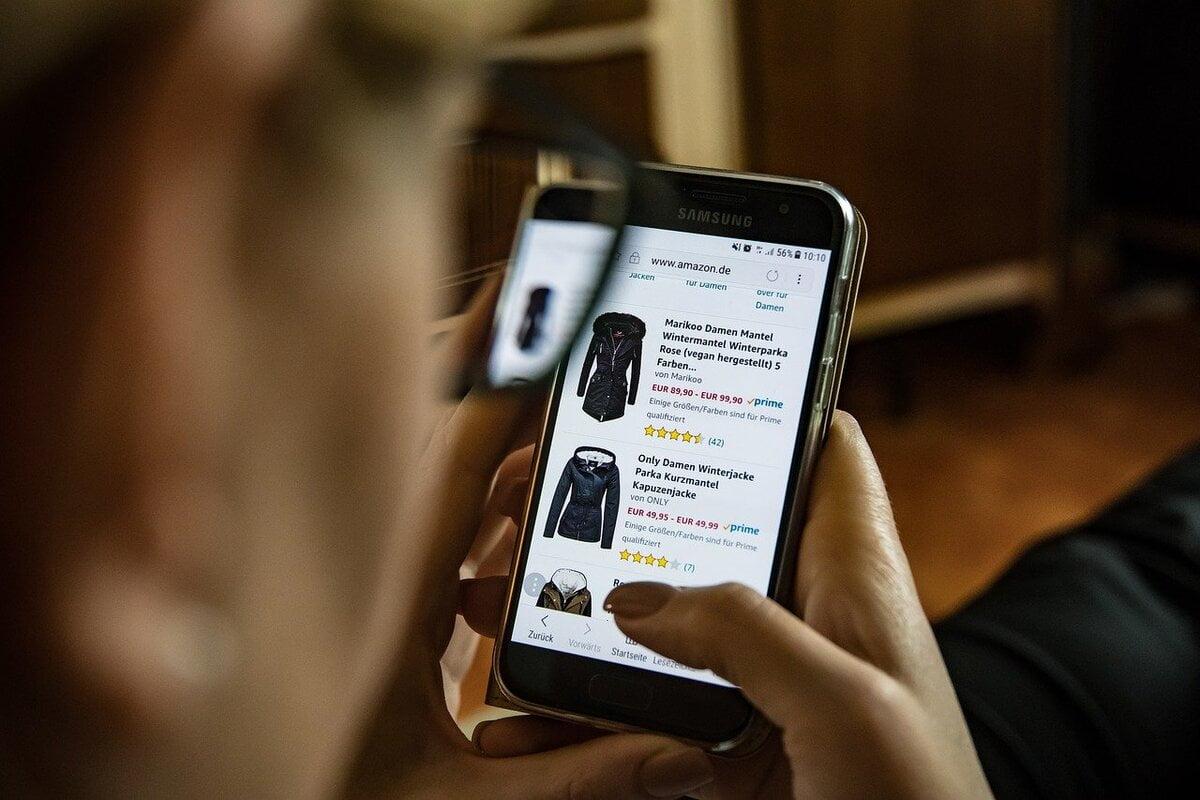 Online einkaufen, Shopping,