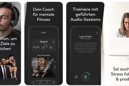 Homeoffice Mentaltraining App