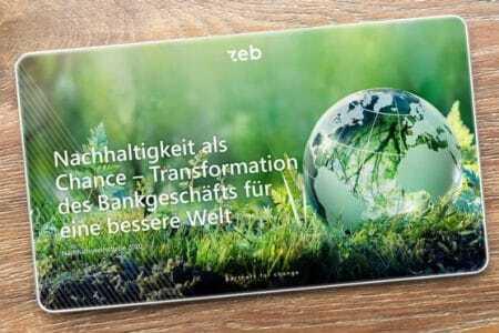 Nachhaltigkeit Banken zeb