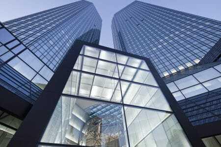 Deutsche-Bank-Towers in Frankfurt