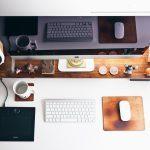 Schreibtisch, Office, Büro