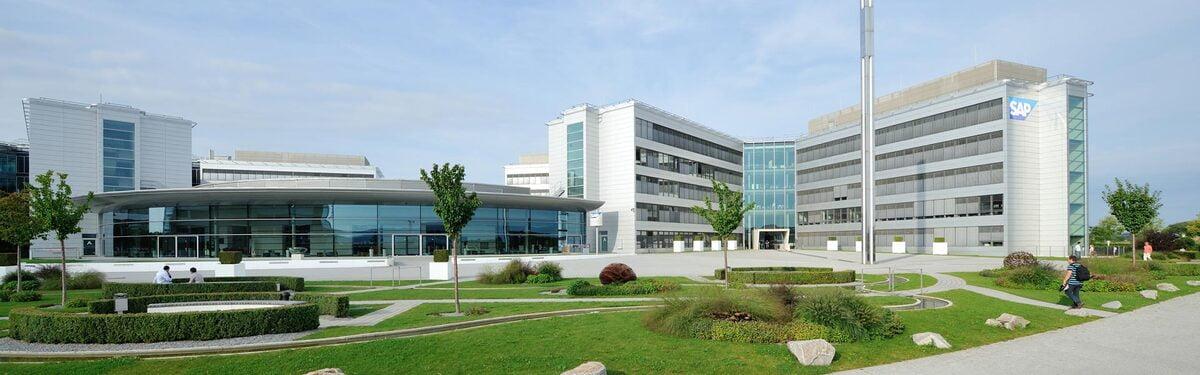 SAP Konzernzentrale in Walldorf